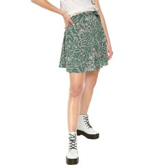 falda verde-rosa glamorous