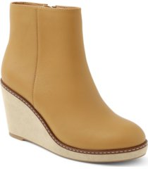 kensie hatley wedge booties women's shoes