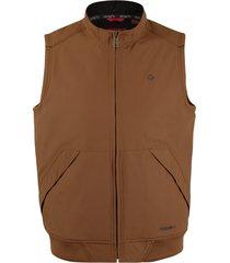 wolverine men's i-90 vest chesnut, size xl