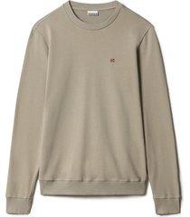 napapijri sweater balis khaki regularfit np0a4ew7/g5l