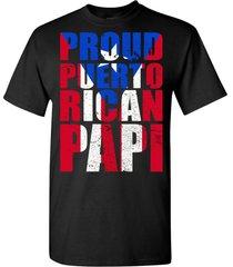 proud puerto rican papi t shirt