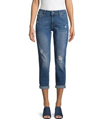 davis distressed girlfriend jeans