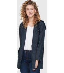 chaqueta jacqueline de yong azul - calce regular