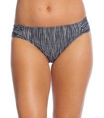 ripple-print hipster bikini bottom