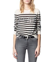 women's zadig & voltaire source cashmere sweater