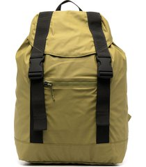 rains ultralight slouchy backpack - green