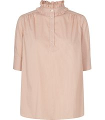 lina frill blouse