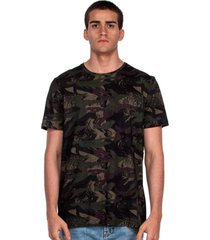 camiseta lost camo tape lateral - verde - masculino - dafiti