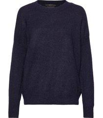 crewneck knit gebreide trui blauw scotch & soda