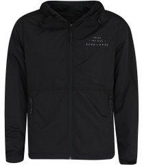 jaqueta com capuz hang loose joy - masculina - preto