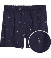 boxer prints azul marino gap