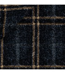 pantaloni da uomo su misura, vitale barberis canonico, flanella blu a quadri doppi, autunno inverno | lanieri