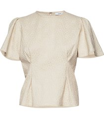 jo ss blouse 11402 blouses short-sleeved wit samsøe samsøe