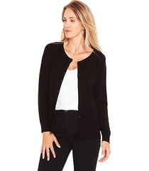 sweater wados botones negro - calce regular