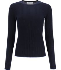 gabriela hearst jaipur sweater in cashmere and silk