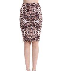 falda animal print nicopoly