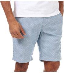 mens gatman textured printed spot shorts