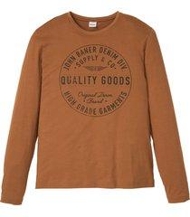 maglia a maniche lunghe (marrone) - john baner jeanswear