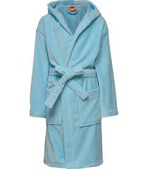 orbaden bathrobe morgonrock badrock blå lindberg sweden