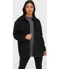 neo noir lin boucle jacket övriga jackor