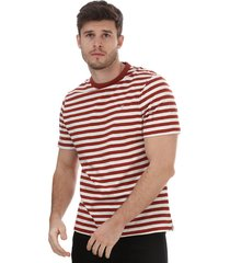 mens montego striped t-shirt