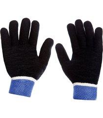 guante trend autumn hombre negro/azul