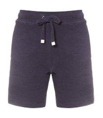 short masculino toalha - azul