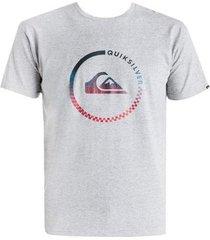 t-shirt korte mouw quiksilver t-shirt eqyzt03623-sgrh