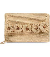 the ravello raffia convertible clutch