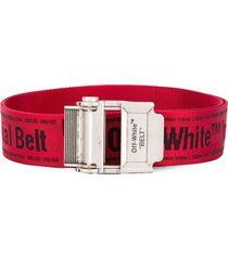 off-white red2.0 industrial belt