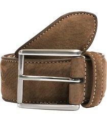 anderson's belts suede belt - brown a0971-af3751-04-pl146