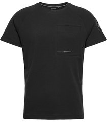 antarctica tee t-shirts short-sleeved svart sail racing