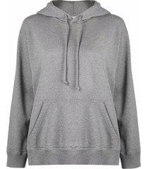 mm6 maison margiela drawstring pullover hoodie