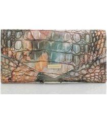 brahmin veronica melbourne leather envelope wallet