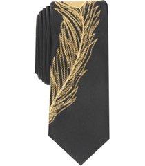 inc men's golden feather slim tie, created for macy's