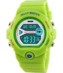relógio skmei digital 1153 verde