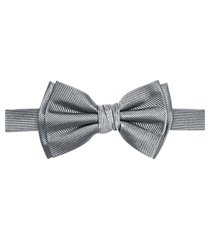 jos. a. bank woven tonal stripe pre-tied formal bow tie clearance