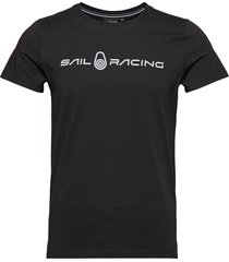 bowman tee t-shirts short-sleeved svart sail racing
