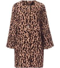 płaszcz leopard