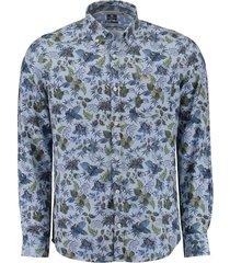overhemd waihopo blauw
