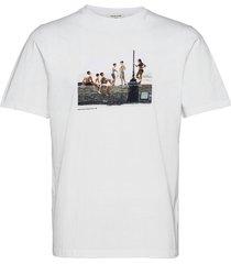 sami brett lloyd la banda t-shirts short-sleeved vit wood wood