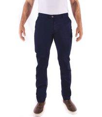 pantalón frank pierce chino p3001 - azul
