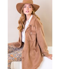 soft jacket camel