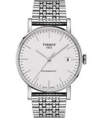 women's tissot everytime swissmatic automatic bracelet watch, 40mm