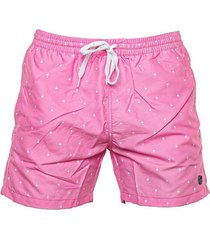 short de baño rosa topper slim