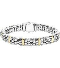 women's lagos oval rope caviar bracelet