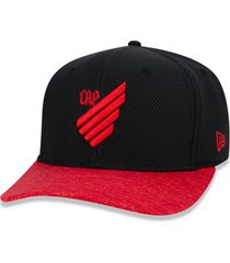 boné new era 9fifty stretch sn atlético paranaense preto