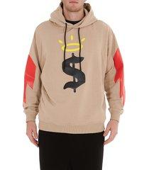 buscemi printed hoodie
