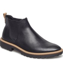 incise tailored shoes chelsea boots svart ecco