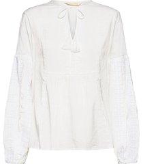 eloise blouse blouse lange mouwen wit odd molly